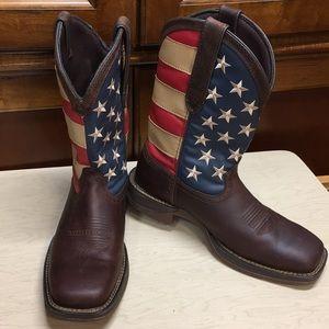 Durango Patriotic Cowboy Boots